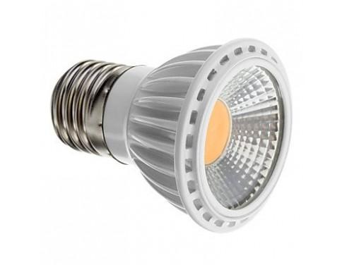 Dimmable E27 5W COB 450-480LM 2700-3500K Warm White Light LED Spot Bulb