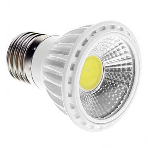 dimmable e27 5w cob 450 480lm 6000k cool white light led spot bulb. Black Bedroom Furniture Sets. Home Design Ideas