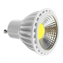 GU10 5W COB 450-480LM 2700-3500K Warm White Light LED Spot Bulb (110-240V)