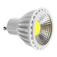 GU10 5W COB 450-480LM 6000-7000K Cool White Light LED Spot Bulb (110-240V)