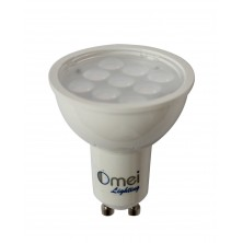 LED Gu10 Bulb 4 watt 60 degree wide angle Perfect halogen replacement bulbs 1 pieces/pack Cool White 5500 - 6000k