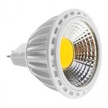 MR16 5W COB 450-480LM 2700-3500K Warm White Light LED Spot Bulb 12V