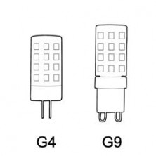 LED Bi-pin Bulbs