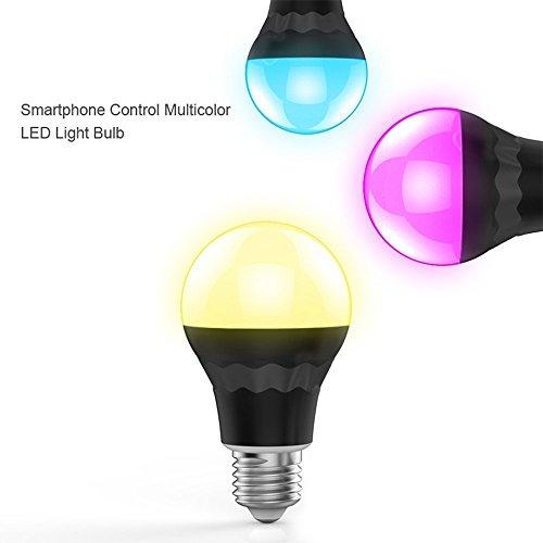 1 Pack Bluetooth 4 0 Speaker E27 Smart Led Night Light