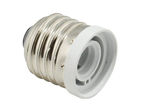 Light Bulb Socket Reducer Stadard US Medium Base E26 to Candelabra E12 Adapter Pack of 10