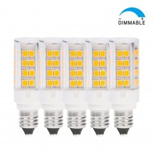 dimmable jd e11 base led light bulb miniature candelabra base soft white 35 watt t4