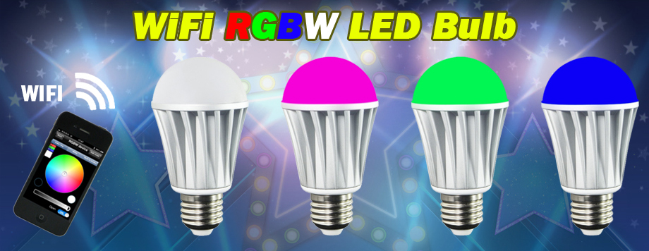 led color light bulbs wifi bluetooth smart controlled led color light. Black Bedroom Furniture Sets. Home Design Ideas